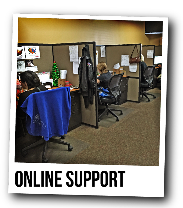 your order support